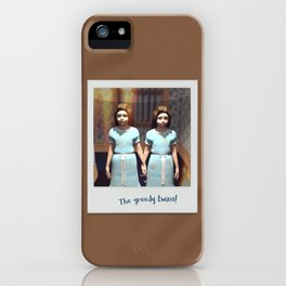 The greedy twins! iPhone Case