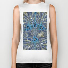 Filigrees and Spirals Biker Tank