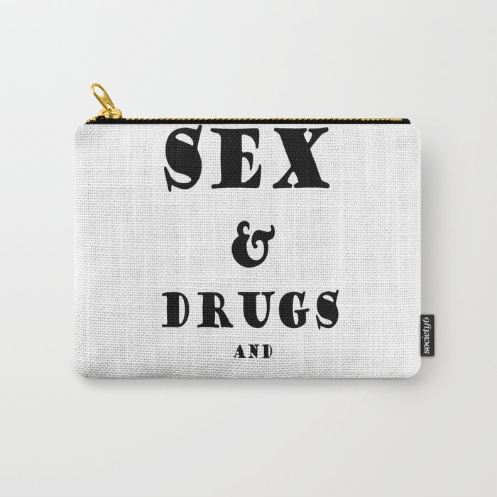 Sex and Drugs and Jam Swiss Roll Carry-All Pouch