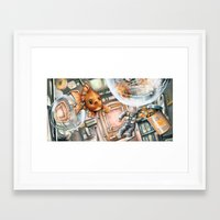 phish Framed Art Prints featuring Space Phish by Ian Anderson