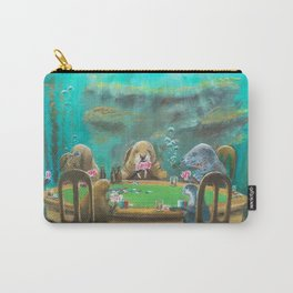 Pinnipeds Playing Poker Carry-All Pouch