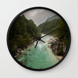 Wild Slovenia Wall Clock