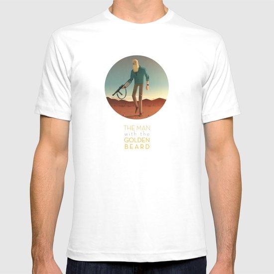 The Man with the Golden Beard T-shirt