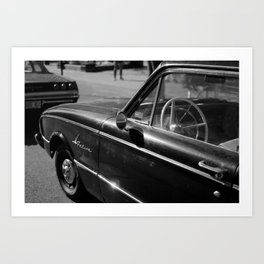 Falcon Vintage Car Art Print