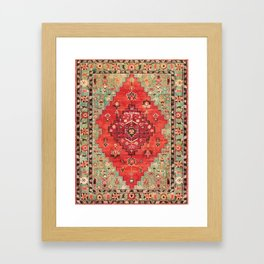 Heritage Oriental Moroccan Traditional Style Framed Art Print