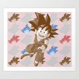 Goku I Art Print