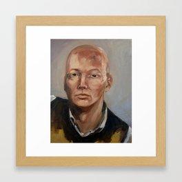 Self-portrait (2010) Framed Art Print