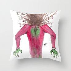TreeMan's Christmas  Throw Pillow