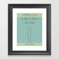 the perks of being a wallflower Framed Art Print