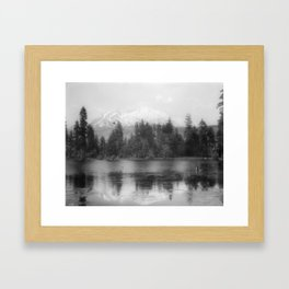 View of Mount Shasta Framed Art Print