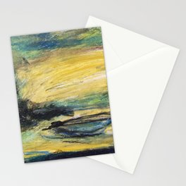 Boat and Sun Stationery Cards