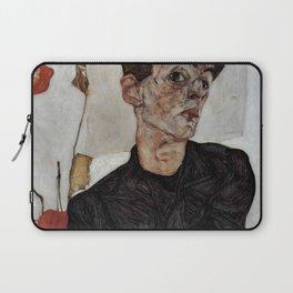 Egon Schiele , self-portrait Laptop Sleeve