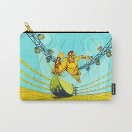 Luchador Lime Carry-All Pouch