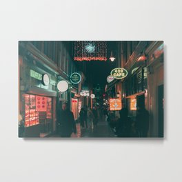 Amsterdam Street / Bladerunner Vibes Metal Print