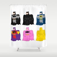 bats Shower Curtains featuring Bats! by Giovanni Costa