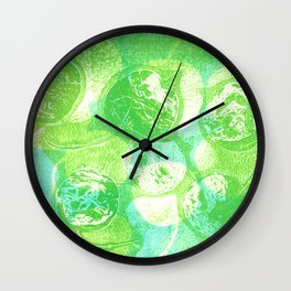 money plant pods Wall Clock