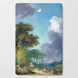 Jean-Honoré Fragonard The Swing Cutting Board
