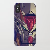 gundam iPhone & iPod Cases featuring Gundam Fan ART by Krayvn Arts