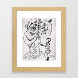 Box-O-Trolls Framed Art Print