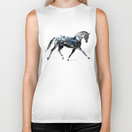 Horse (Trotting Elegance) Biker Tank