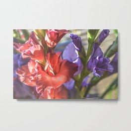 Glad Flowers Metal Print