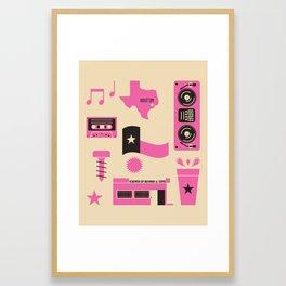 DJ Screw Movement Framed Art Print