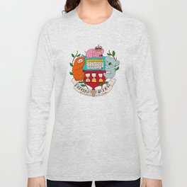 procrasti nation Long Sleeve T-shirt