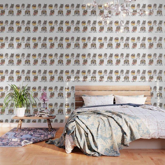 Owl Caffeine Meter -  funny owl coffee Wallpaper