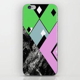 Conformity - Abstract, Textured, Geometric, Pop Art iPhone Skin