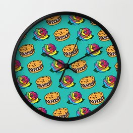 Chipwich & Rainbow Rose Repeat Wall Clock