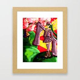 One Thousand Cherry Blossoms Framed Art Print