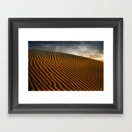 Patterns in the Sand Framed Art Print