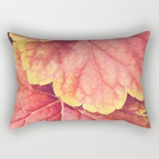 Two Leaves Rectangular Pillow