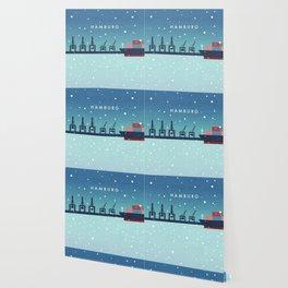 Hamburg winter Wallpaper