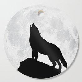 Howling Wolf - Moon Cutting Board