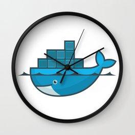 Docker Wall Clock