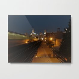 goodbye chicago. Metal Print