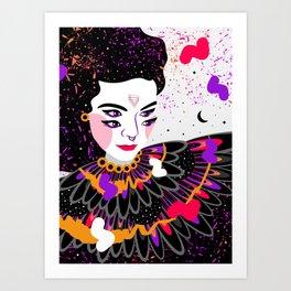 The dreams of Björk Art Print