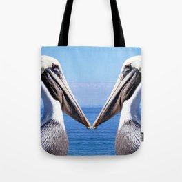 Pelican Pair Tote Bag