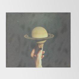 Saturn Cone Throw Blanket