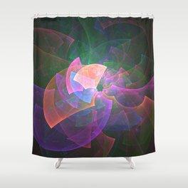 Kaleidoscope Vision Shower Curtain