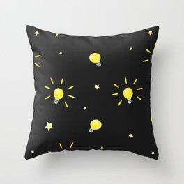 Bulbs Throw Pillow