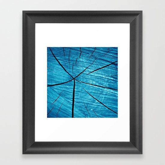 wood abstract II Framed Art Print