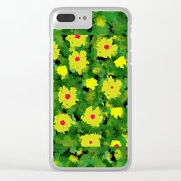 Digital painting for Paul Klee. Clear iPhone Case