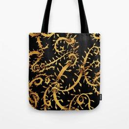 gold vine Tote Bag