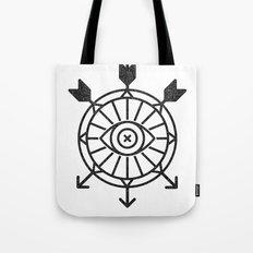 shield of arrows Tote Bag