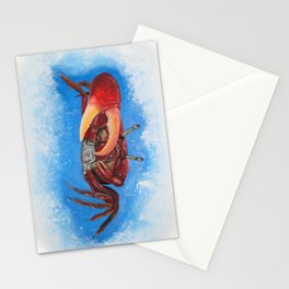Sea crab Stationery Cards