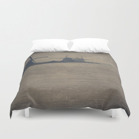Kinderdijk Windmills II Duvet Cover