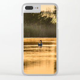 Golden morning Clear iPhone Case
