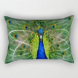 Peacock dreamcatcher Rectangular Pillow